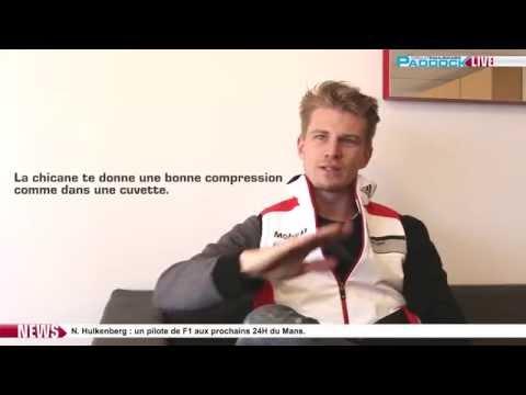 Paddock LIVE - Interview Nico Hülkenberg -