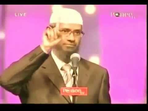 Dr Zakir Naik : Riposte Incroyable à Une Question Avec Des Arguments Solides (haute Qualité) video