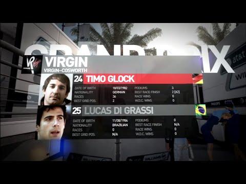 F1 2010 - Timo Glock @ Abu Dhabi GP