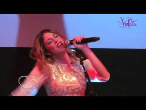 Showcase Violetta Ser mejor version acoustique Exclusivité Disney Channel