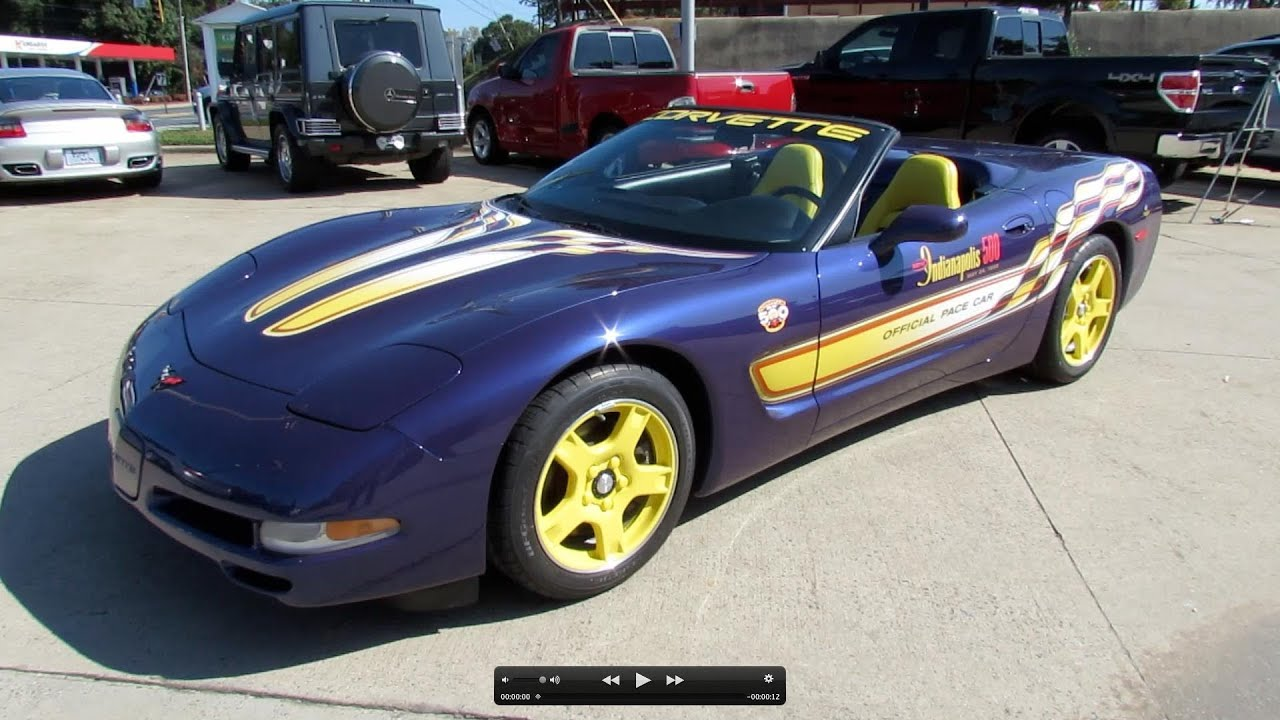 Corvette Pace Car For Sale