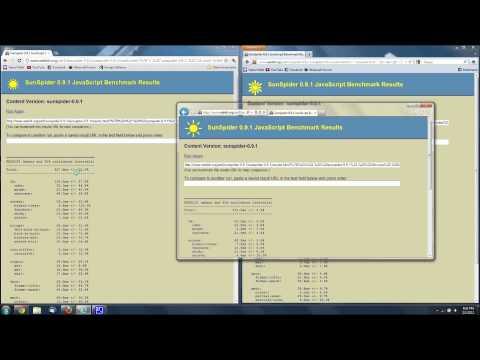 Browser Loading Speed Test - Google Chrome vs. Firefox vs. Internet Explorer