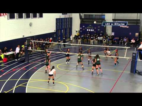Lancers Vs  Billerica   Volleyball