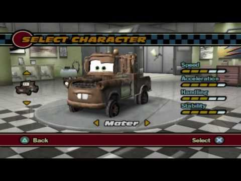 Cars (PS2 Gameplay)