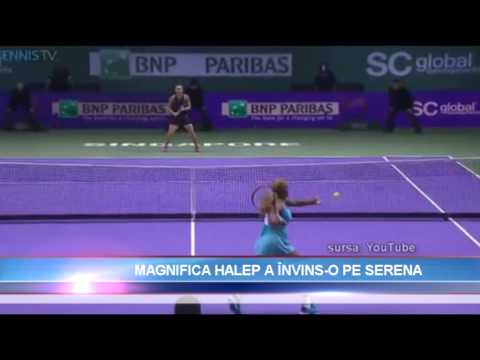SIMONA HALEP a invins-o pe Serena William
