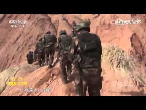 Chinese police crackdown terrorists in Xinjiang, heavy gunfire seen