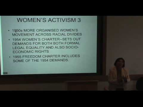 International Studies Symposium Series - Rashida Manjoo Part 3