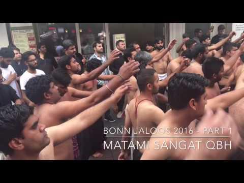 QBH BONN GERMANY MARKAZI MATAMI JALOOS 2016 part 1