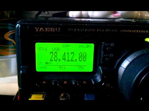 My first ham radio contact with Japan JO3JIS.