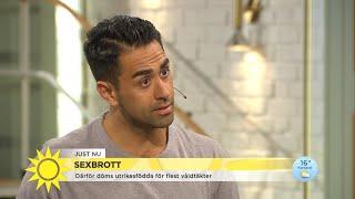 Därför döms utrikesfödda för flest våldtäkter - Nyhetsmorgon (TV4)