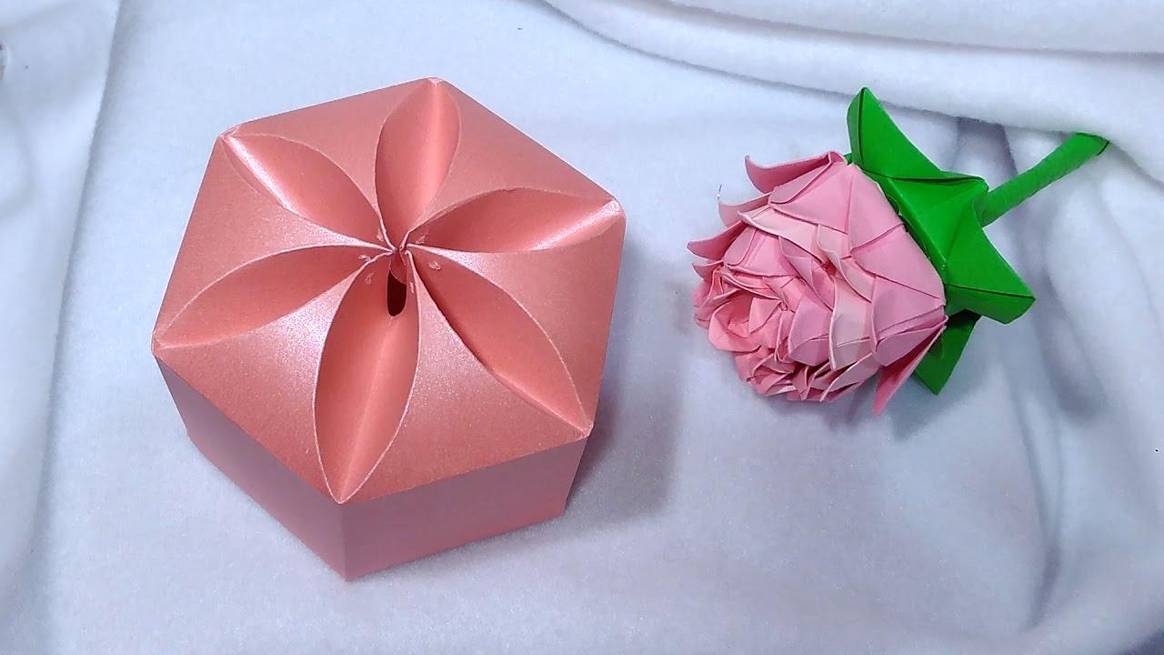 Оригами из бумаги подарок своими руками 921