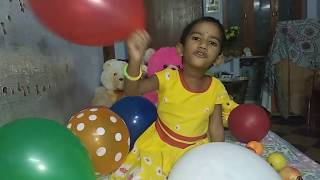 Learn colours/ Colors song/ colours rhyme/balloons Colors/ balloons