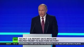 'US is a great country, correct me if I'm wrong' - Putin on claims Russia influenced US elections