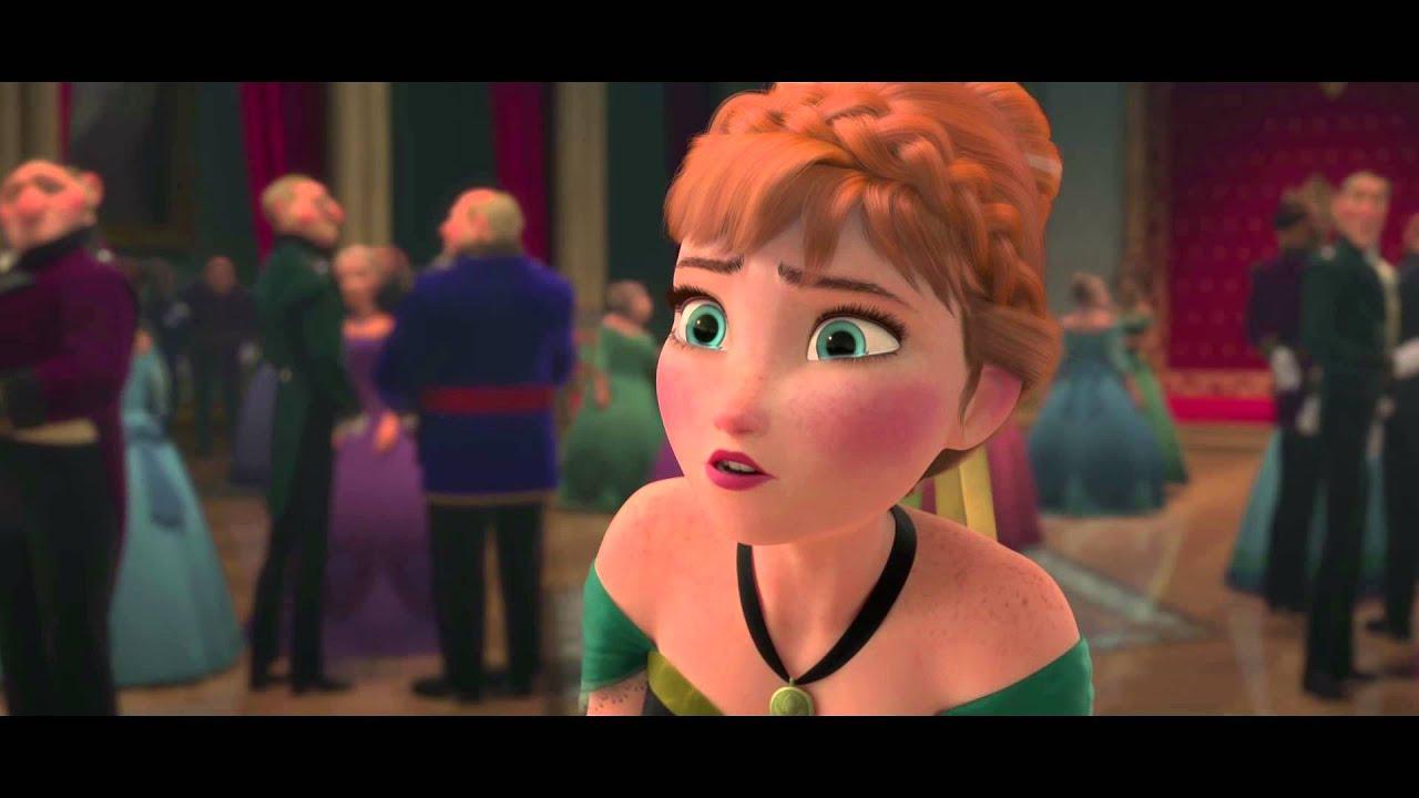 La reine des neiges extrait exclusif la f te est - Ana reine des neiges ...