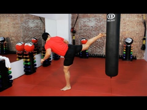 How to Do a Kickboxing Back Kick | Kickboxing Training Image 1
