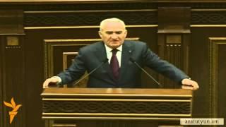 Galust Sahakyani artahert eluyte Levon Ter-Petrosyani, toshaki gnal-chgnalu masin
