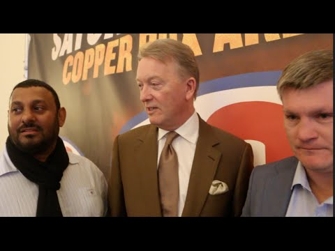 *EXCLUSIVE* - PRINCE NASEEM HAMED, RICKY HATTON & FRANK WARREN BANTER ABOUT THE PAST & PRESENT