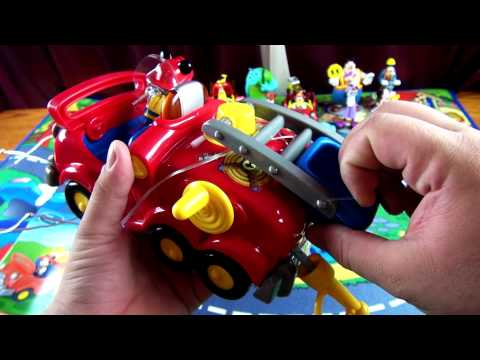 mickey mouse fire truck