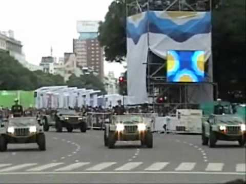 Desfile Militar Bicentenario Argentino 2010