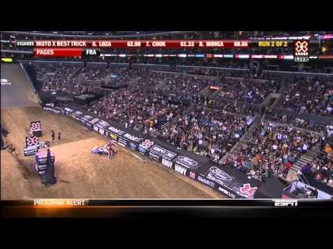 2012 X-Games MotoX Best Trick