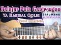 Belajar Pola Genjrengan Ya Habibal Qolbi Versi Gitarlele