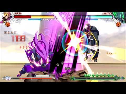 BBCF Susanoo Impractical Sword Combos