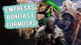 MELHORES EMPRESAS DOS JOGOS ATUALMENTE!