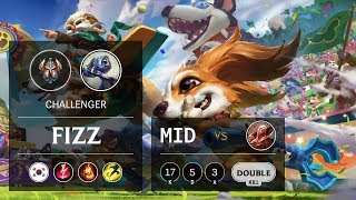 Fizz Mid vs Vladimir - KR Challenger Patch 9.7
