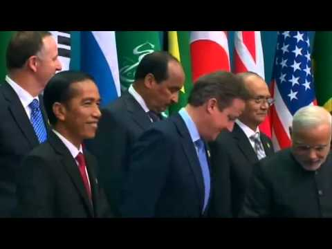 Narendra Modi with World Leaders at G20 Summit in Brisbane
