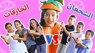 فوزي موزي وتوتي | DIY مع المندلينا | مسابقة اولاد وبنات الجزء 2 | Boys vs. Girls Part 2