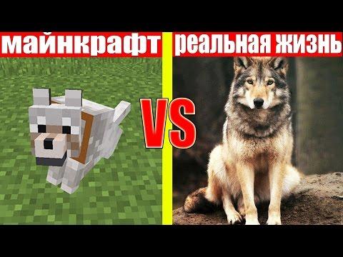МАЙНКРАФТ ПРОТИВ РЕАЛЬНОЙ ЖИЗНИ 3 ! MINECRAFT VS REAL LIFE