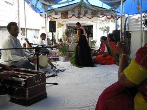 Hindu Religious Ceremony in the Bronx