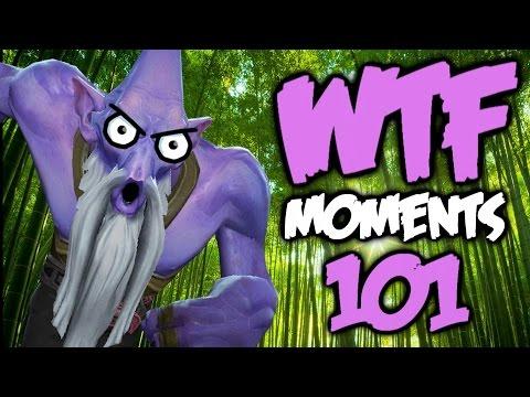 Dota 2 WTF Moments 101