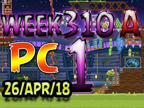 Angry Birds Friends Tournament Level 1 Week 310-A PC Highscore POWER-UP walkthrough