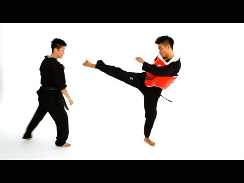 Step Forward Step Back Technique | Taekwondo Training Image 1