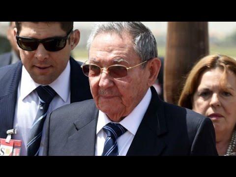 Palabras de Raul Castro en la despedida del Presidente Francois Hollande