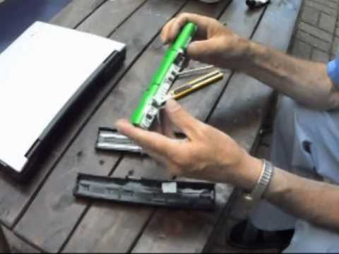 Remove dead cells from dead laptop battery pack