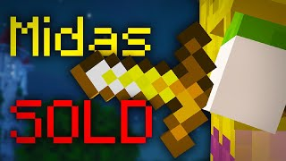 So I Sold My 50,000,000 Coin Midas Sword! (Hypixel Skyblock)