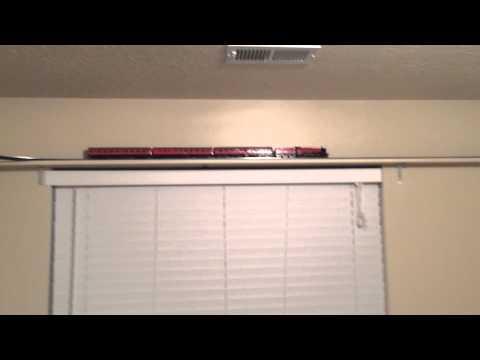 Harry Potter HO Bachmann Shelf Wall Train