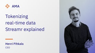 Tokenizing real-time data - Streamr explained in 2 minutes