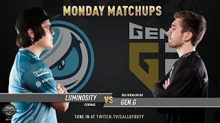 Luminosity vs Gen.G | CWL Pro League 2019 | Division A | Week 2 | Day 1