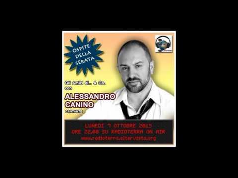 Radioterra On Air – Gli Amici di…& Co. – Intervista a Alessandro Canino