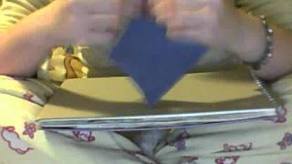 Making An Origami Butterfly