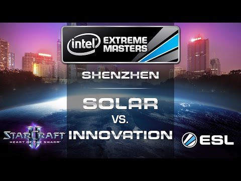 Solar vs. INnoVation - ZvT - Quarterfinals - IEM Shenzhen - StarCraft 2