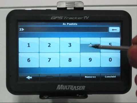 GPS Multilaser utilização