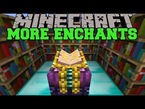 Minecraft: MORE ENCHANTS EXPLOSIONS RESURRECTION EXECUTION MORE Mod Showcase