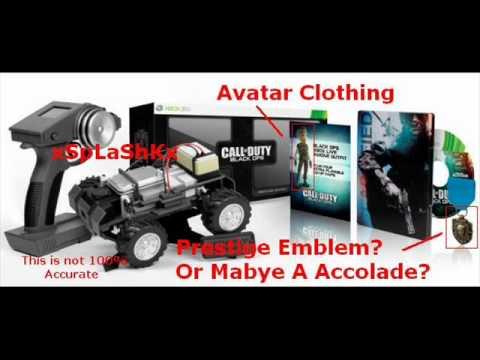 Call Of Duty: Black Ops- Prestige Emblem + Avatar Clothing. 2435 shouts