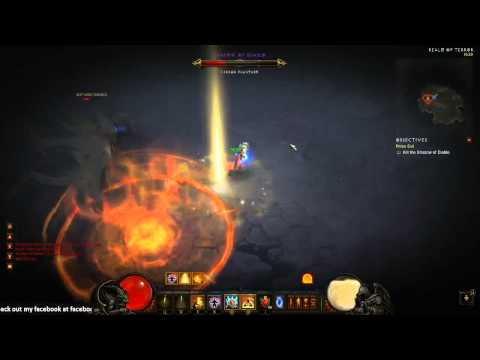Diablo 3 Inferno Diablo Monk Solo Kill Vanguards No LOH