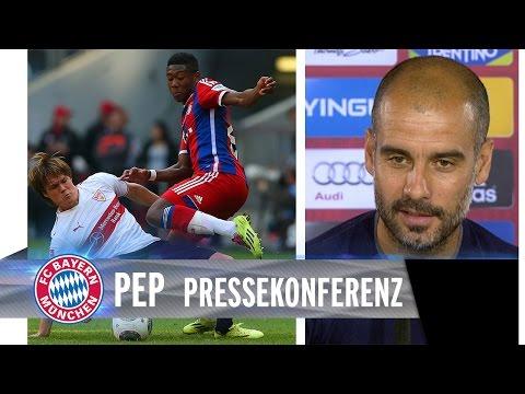 Pep Guardiola - Pressekonferenz vor Stuttgart