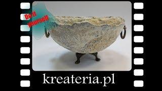 Misa z efektem kamienia Stone Art Powertex - Stone KreaCraftShow53